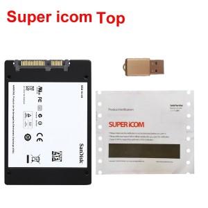 Super ICOM TOP Software SSD WIN7 For BMW ICOM