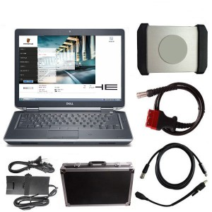 Porsche Piwis 2 Tester With Dell E6430 Laptop