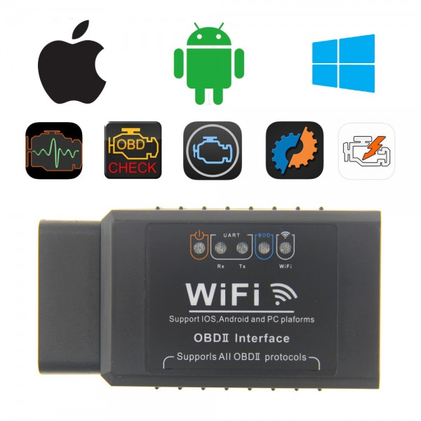 ELM327 WIFI OBD2 EOBD Scan Tool Support Android/iPhone/iPad