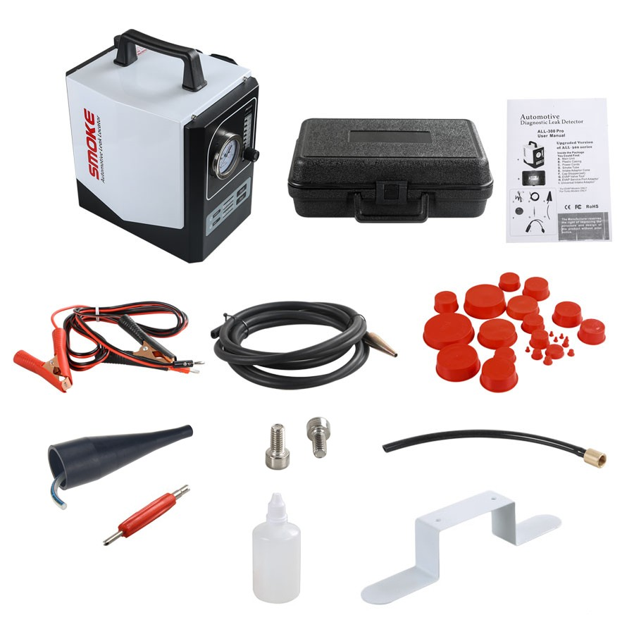 Smoke Automotive Leak Locator ALL-300 EVAP Packing List