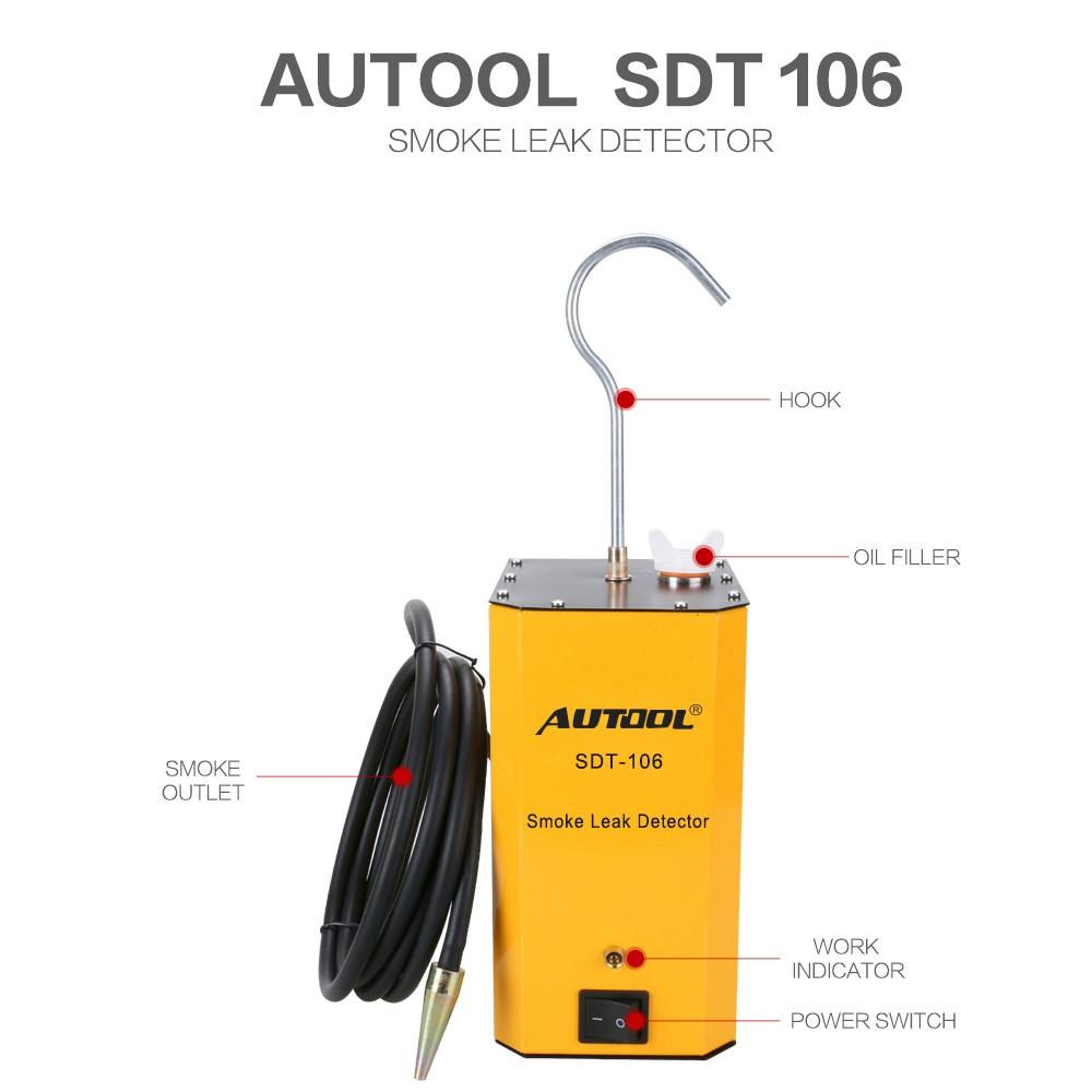 Autool SDT-106 Smoke Leak Detector Main Unit