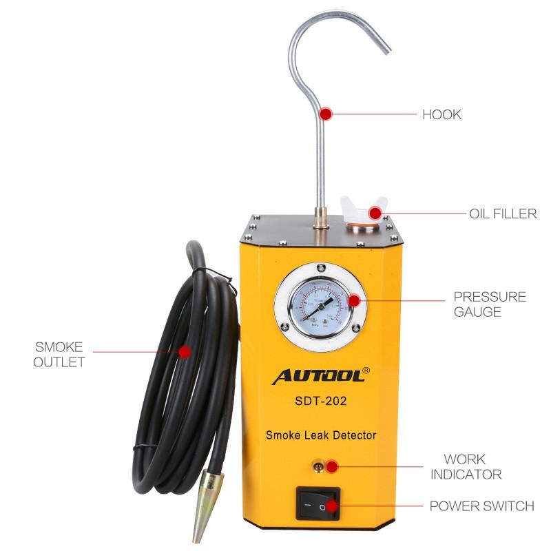 Autool SDT-202 Smoke Leak Detector Main Unit