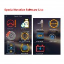 Launch Icarscan special functions