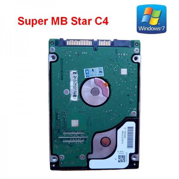 Super MB Star C4 Software HDD