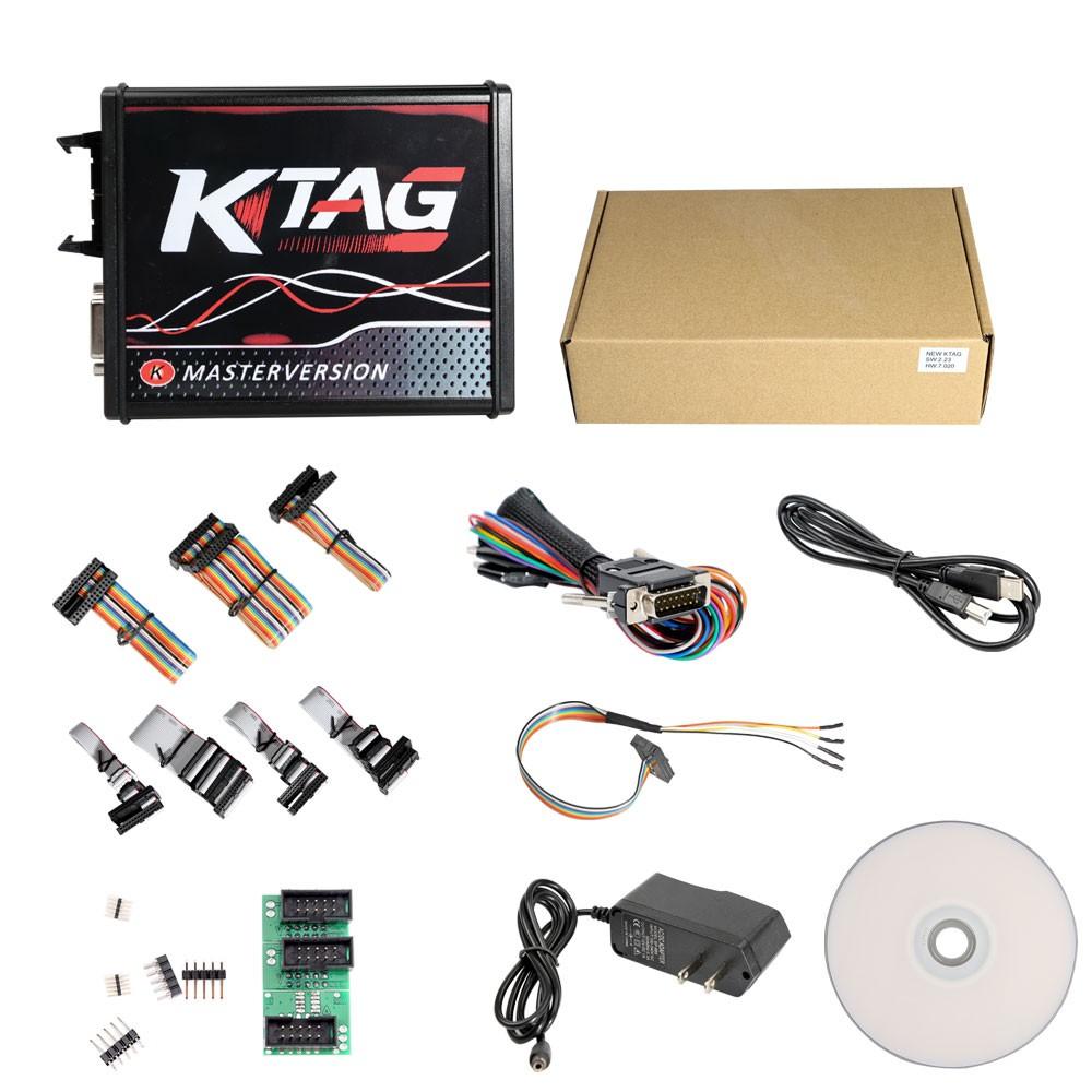 KTAG EU Online version 7.020 Packing List