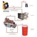AUTOOL ATF602 12V Car Brake Fluid Bleeder