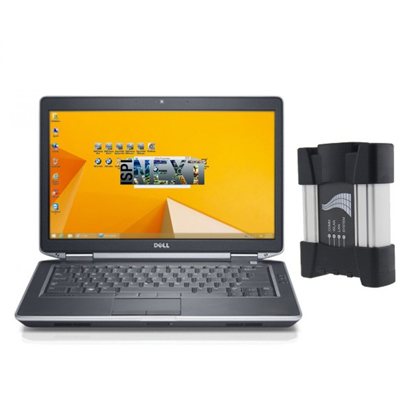 ICOM NEXT plus Dell D6430 Laptop BMW Diagnostic Programming Tool
