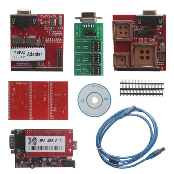 UUSP UPA USB Serial Programmer Full Package V1.3