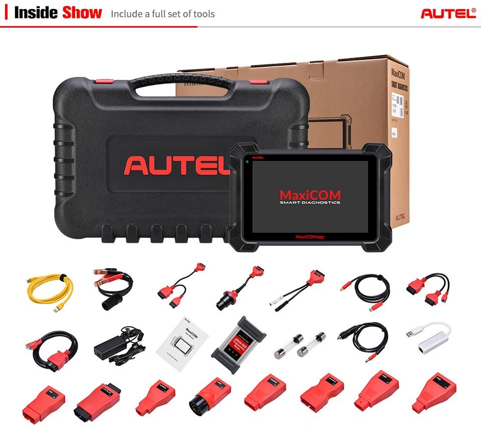 Autel MaxiCOM MK908P Pro Package List