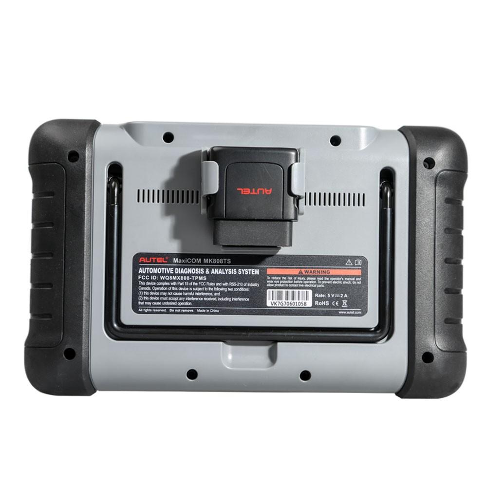Autel MK808TS Interface