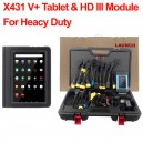 Launch X431 V+ Tablet & HD III Module For 24V Truck Heavy Duty