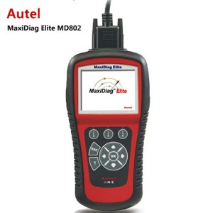 Autel MaxiDiag Elite MD802 For 4 System + DS Model