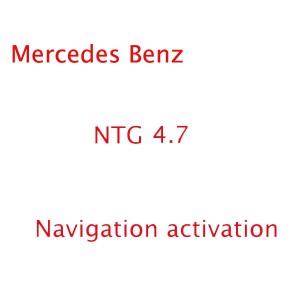 Mercedes Benz Navigation Code For NTG 4.7