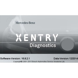 DAS Xentry 12/2014 Install DVD for Mercedes Benz - 2 DVDs