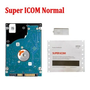 Super iCOM ISPI NEXT Software HDD Normal Version