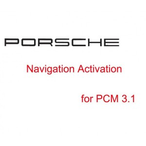 Porsche Navigation Activation for PCM 3.1