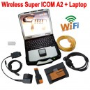 Wireless Super ICOM A2 With Laptop 2016-07 ISTA-D BMW Diagnostic Tool