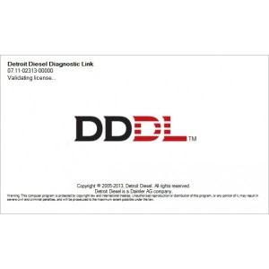 Detroit Diesel Diagnostic Link v7.11 (DDDL 7.11) with Keyegn