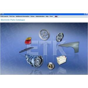 BMW ETK 12-2013 Electronic parts catalog