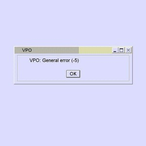 DAS VPO General Error (-5) Fix by Teamviewer