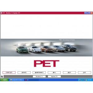 Porsche Electronic Parts Catalog (PET) 7.3