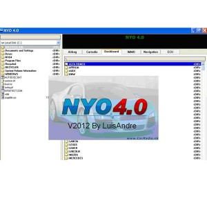 NYO V4.0 Full for Odometer RadioCar Airbag Navigator