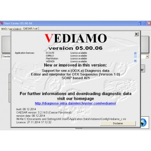 Vediamo 5.0.6 Benz Factory Developer Software For SD Connect C4