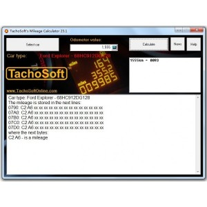 Tachosoft Mileage Calculator 23.1