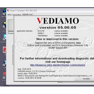 Benz Vediamo Software 5.0.5 For SD Connect C4