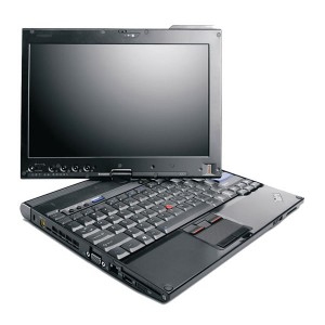 Lenovo X201T Notebook Multi Touch Tablet