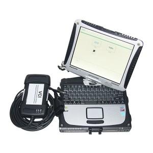 Original JLR VCI3 with Panasonic CF19 Touchscreen Laptop