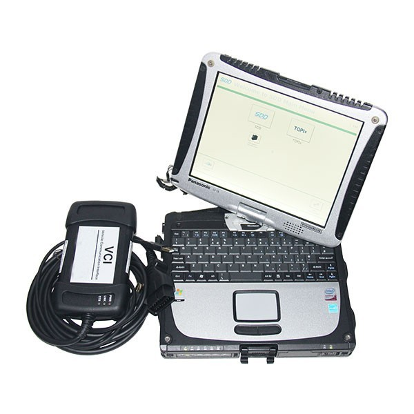 Original JLR VCI3 with Panasonic CF19 Touchscreen Laptop