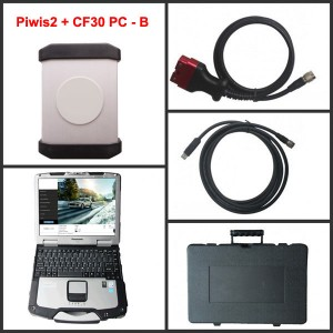 Porsche Piwis II + Panasonic CF30 ToughBook-B