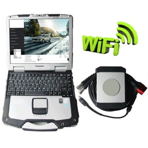 Piwis II WIFI With Panasonic CF30 Laptop