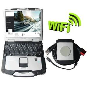Piwis II WIFI With Panasonic CF30 Laptop