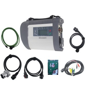 Win7 SD Connect C4 Mercedes Benz SD Compact4 Diagnostic Tool