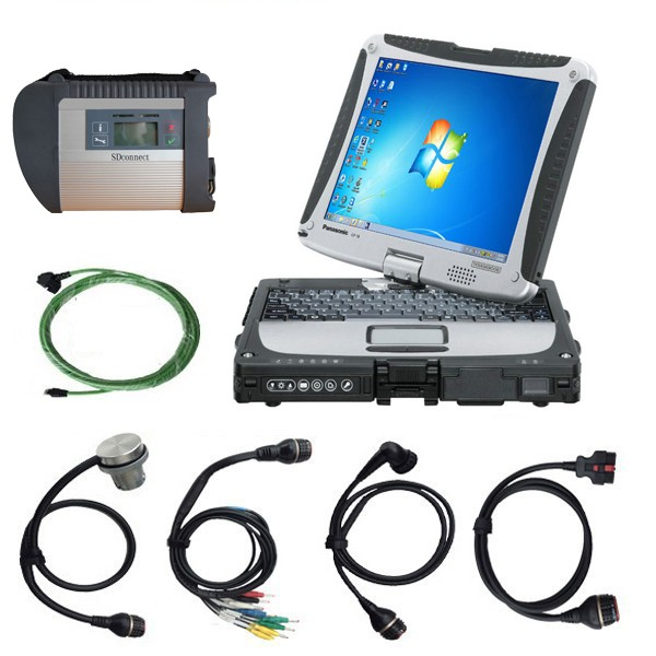 Win7 SD Connect4 with Panasonic CF19 Laptop