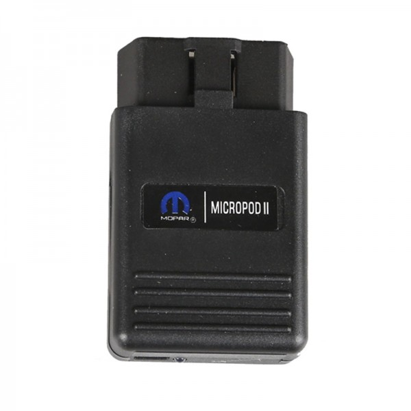 WiTech MicroPod II for Chrysler Mopar MicroPOD 2 for Chrysler Jeep Dodge Support Multi-Languages