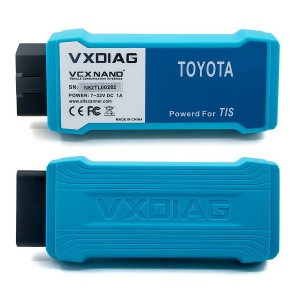 Wireless VXDIAG VCX NANO TOYOTA TIS Techstream Compatible with SAE J2534
