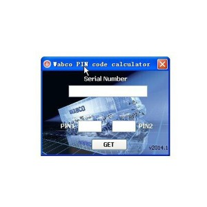 Wabco PIN Code Calculator For PIN/PIN2 Wabco Pin Generator