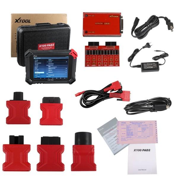 XTOOL X100 PAD2 Wifi & Bluetooth Whole Set