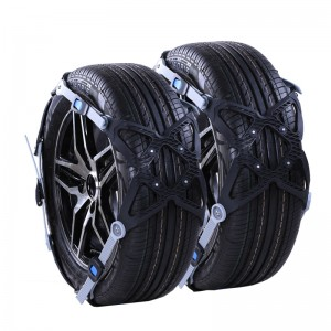 Car Tire Snow Chains 6Pcs/Lot Universal Adjustable TPU Anti-skid Chains
