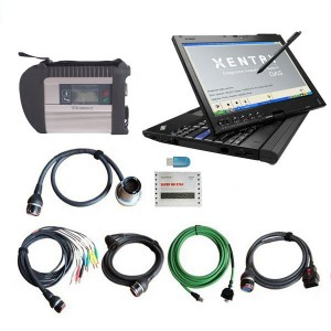 Wireless Super MB Star Plus With Lenovo X201T Laptop