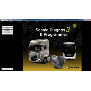 Scania SDP3 Software V2.27 for VCI2/VCI3 without USB Dongle