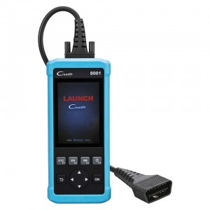 Launch CReader 8001 DIY Code Reader CR8001 Full OBD2 Scanner with Oil Resets Service