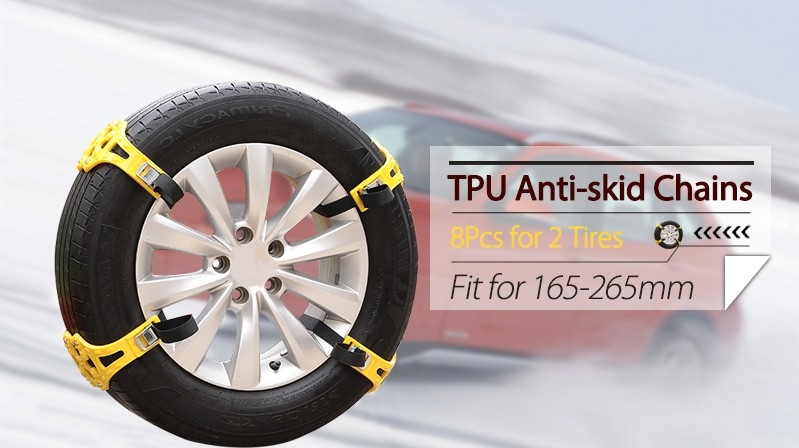 Car Tire Anti-skid Chains