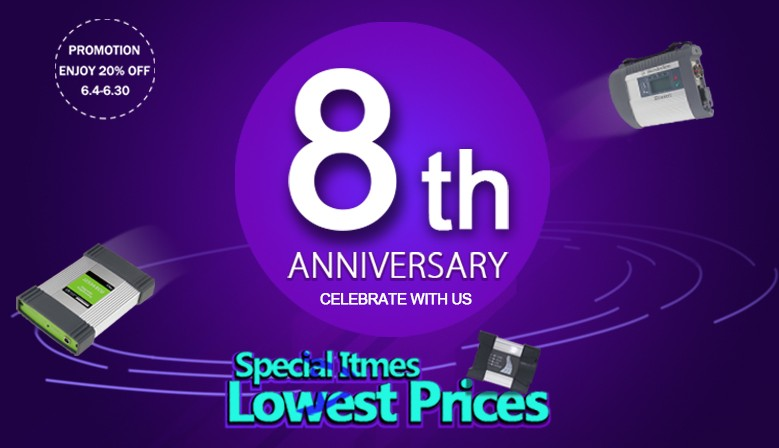 8th Anniversary Promotion