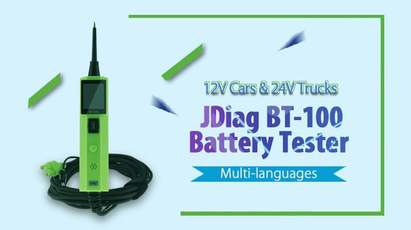 JDiag BT-100 Battery Teser