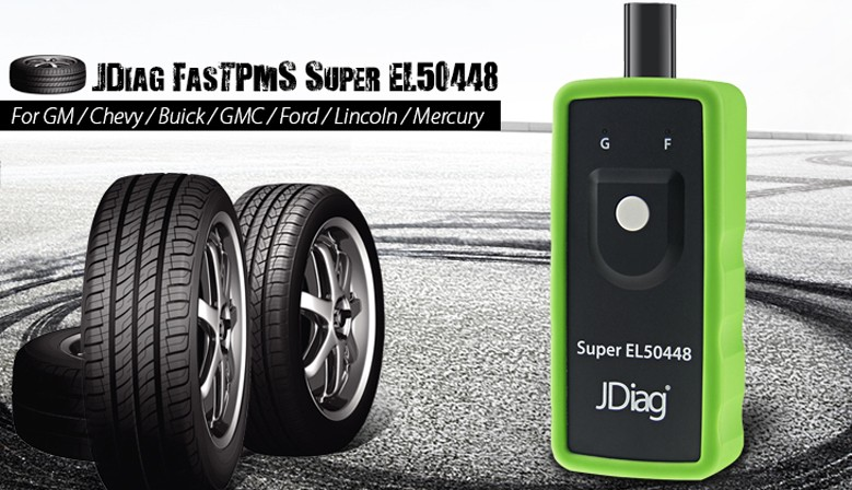 JDiag Super EL50448 For Ford GM
