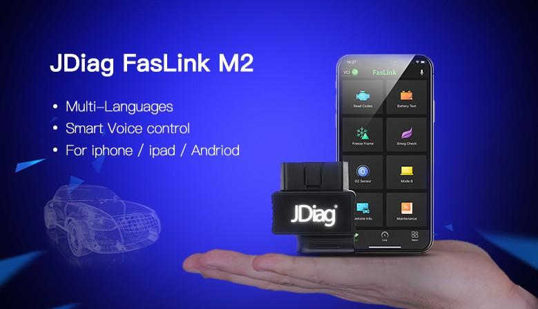 JDiag FasLink M2 OBD2 Code Reader